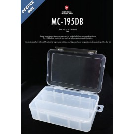 moncross tackle box mc-195db clear