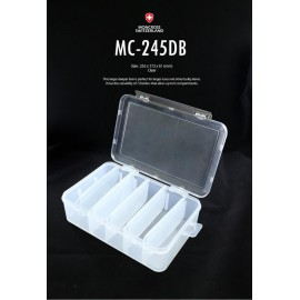 moncross tackle box mc-245db clear