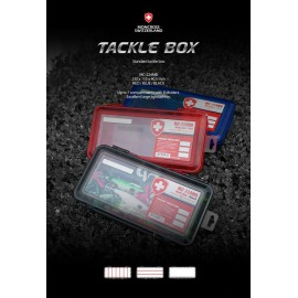 moncross tackle box mc-224mb red 230x115x40.5