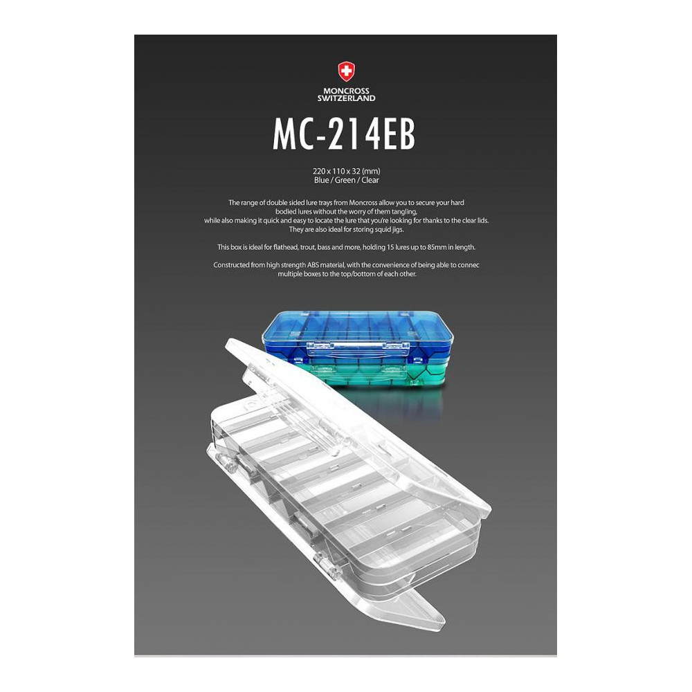 moncross tacke box mc-214eb blue