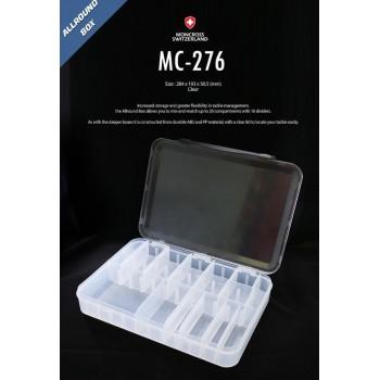 moncross tackle box mc-276 clear