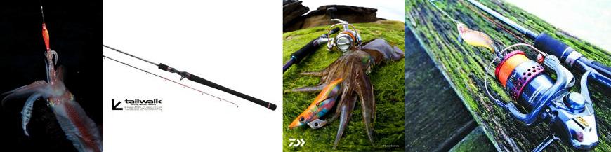 canne da pesca Eging e Tataki